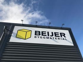 En av Beijer Byggmaterials enheter. Foto: Rolf Gabrielson
