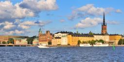 Del av Stockholms Skyline med Riksdagshuset och Riddarholmen. Foto: Colourbox